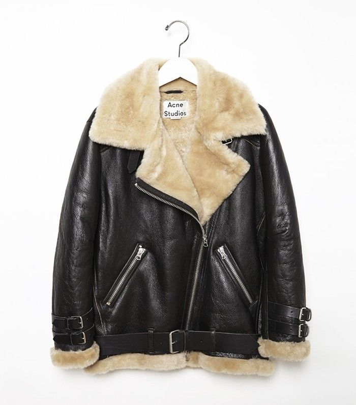 e2e6be93545db The Shearling Moto Jacket Every Fashion Insider Owns | Who What Wear