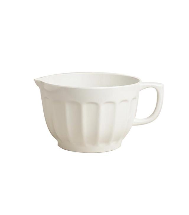 World Market White Melamine Batter Bowl