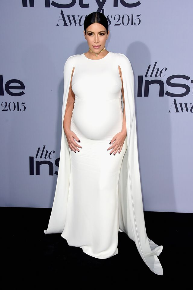 <p><strong>WHO:</strong> Kim Kardashian</p> <p><strong>WHAT:</strong> The 2015 InStyle Awards</p> <p><strong>WEAR:</strong> Valentino dress.</p>