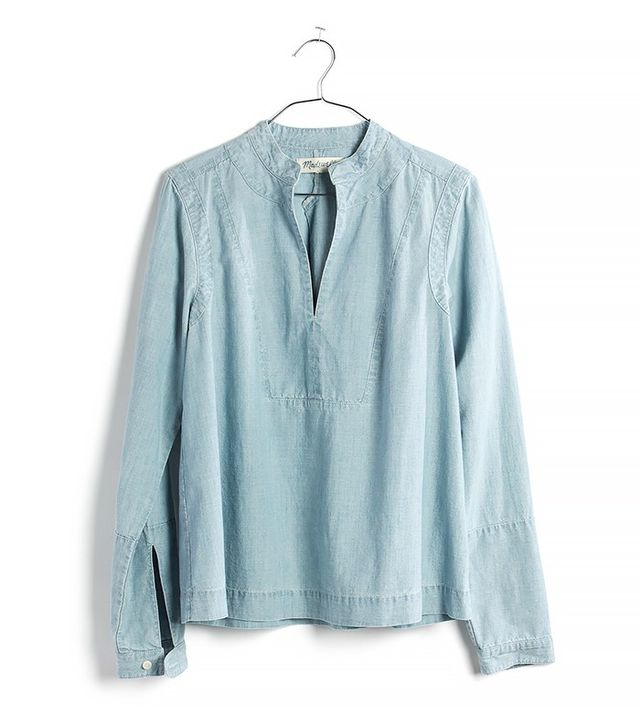 Madewell Denim Popover Shirt in Lauryn Wash