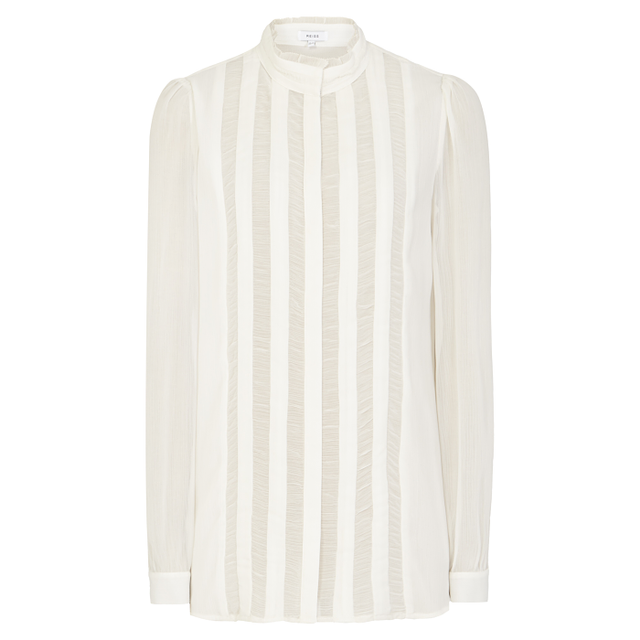 Reiss Vinnie High-Neck Shirt