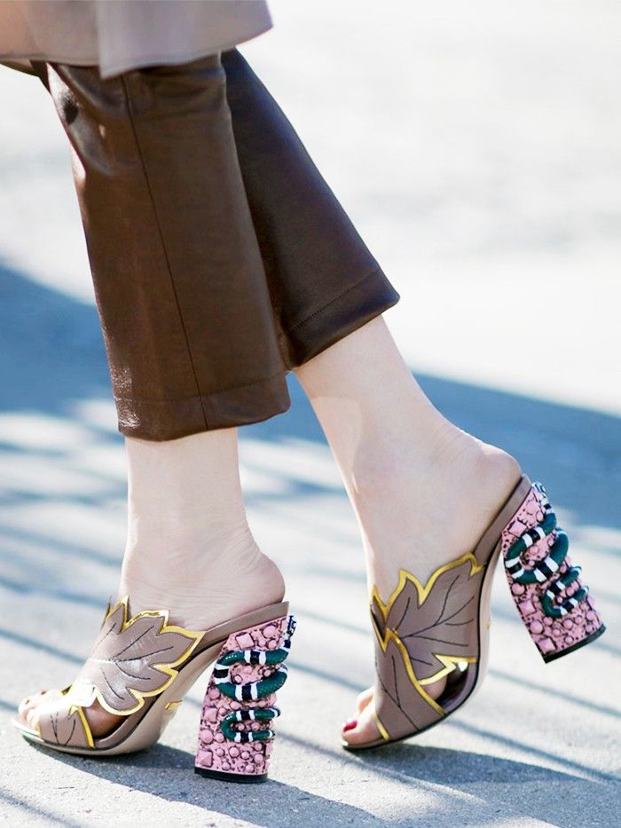 cb051aab8307e The Most Gorgeous Shoes at New York Fashion Week | Who What Wear