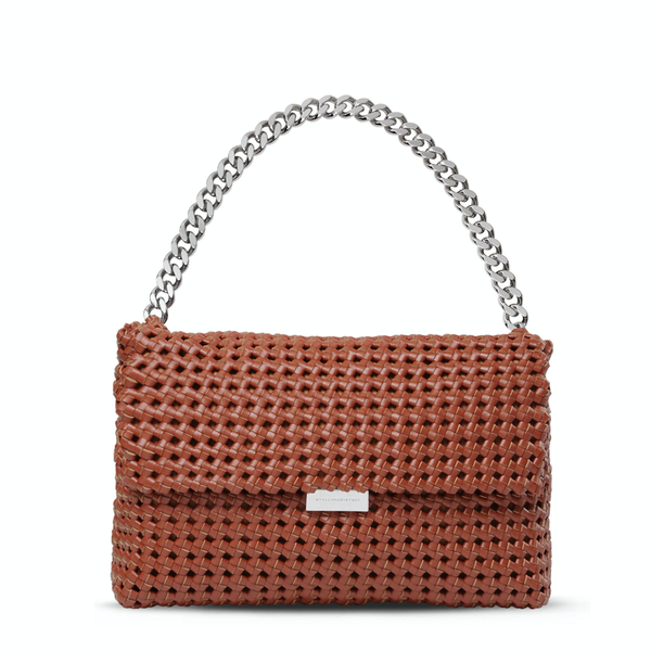 Stella McCartney Brandy Becks Weaved Shoulder Bag