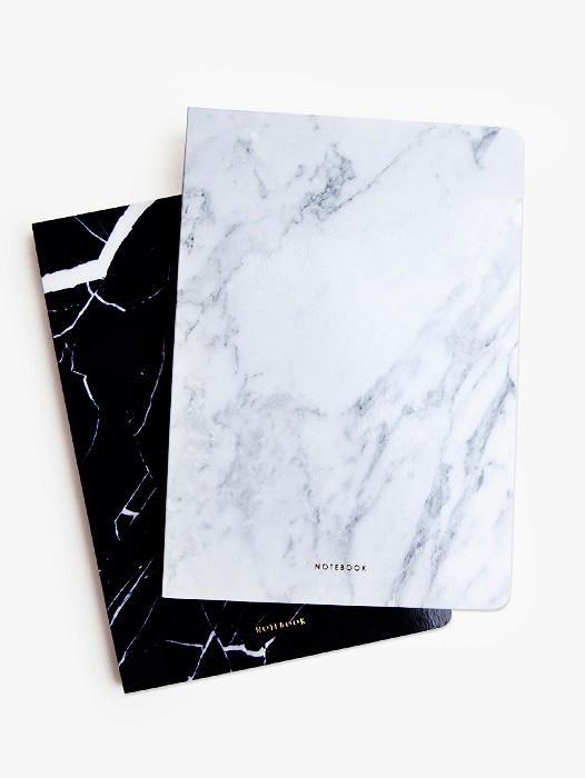 Poketo Marble Blank Notebook