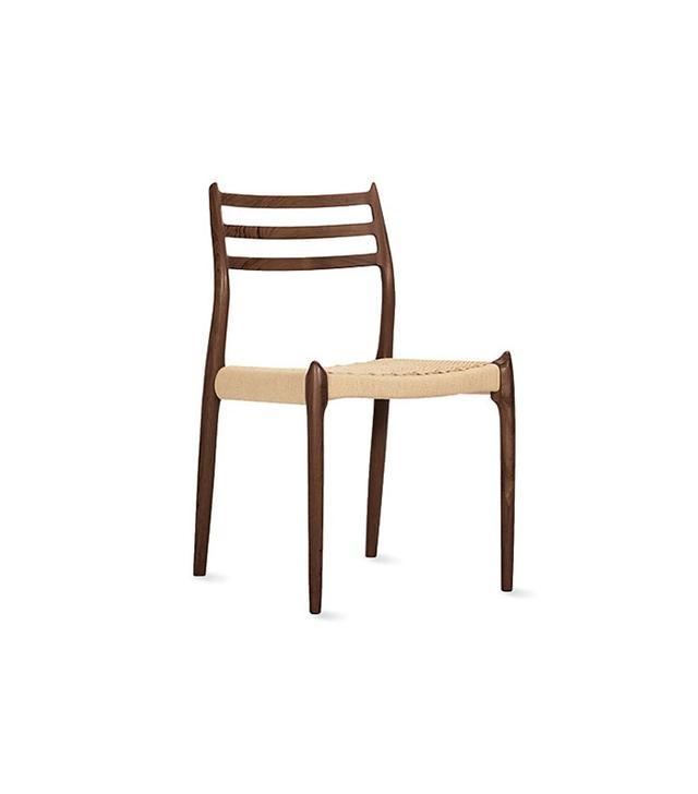 Niels Otto Møller Møller Model 78 Side Chair