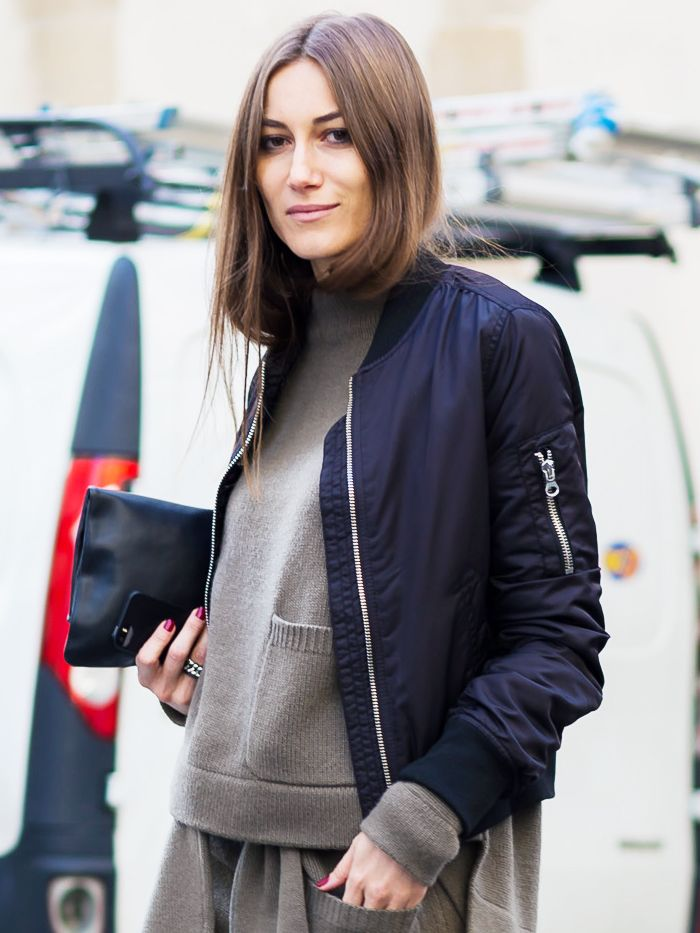 e21ec7017 How to and What to Wear With a Bomber Jacket | Who What Wear UK