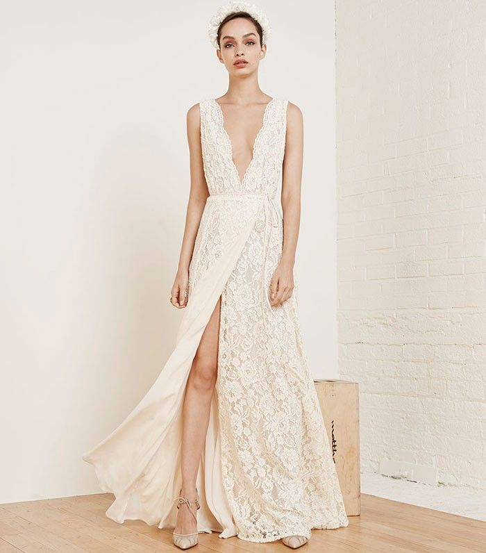 The Tricky Business of Selling Wedding Dresses   Who What Wear