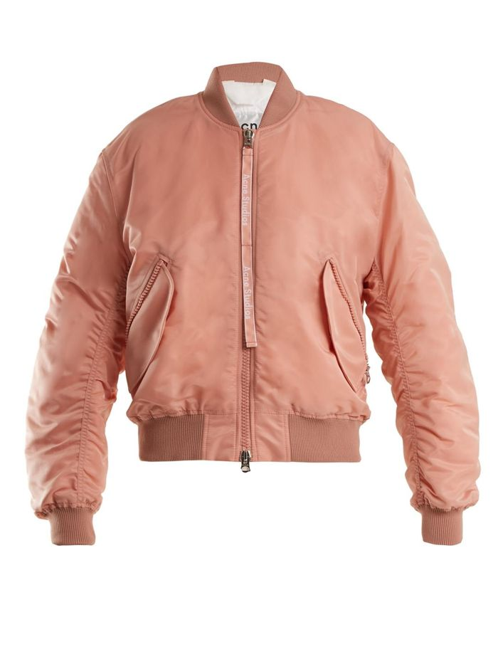 83b895879dc6 The Best Celebrity Bomber-Jacket Outfits