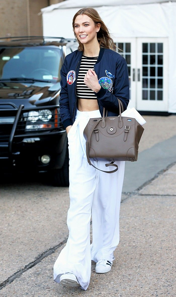 3c637ddb60 The Best Celebrity Bomber-Jacket Outfits