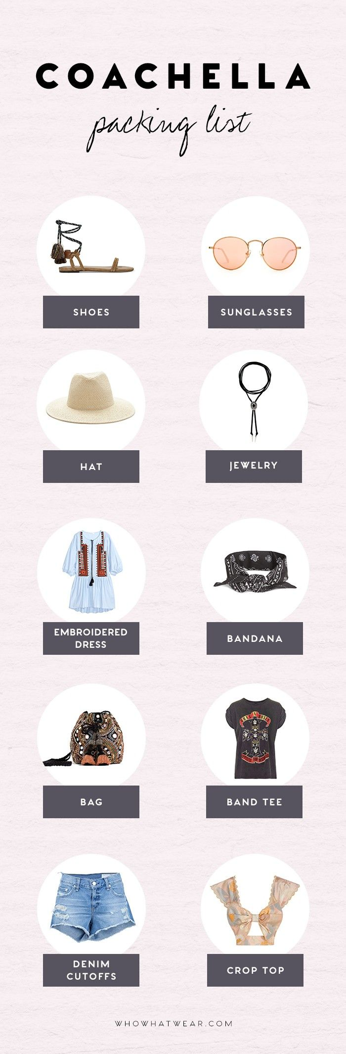 This Packing List Will Ensure You're the Most Stylish Girl