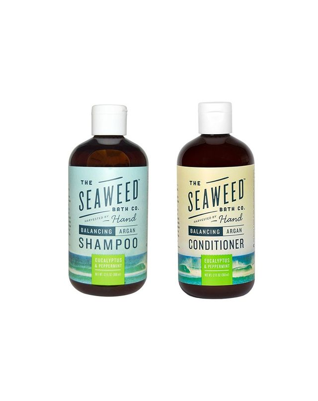 The Seaweed Bath Co. Balancing Argan Shampoo and Conditioner