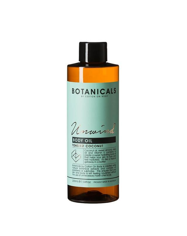 Botanicals by Cotton On Body Unwind Body Oil