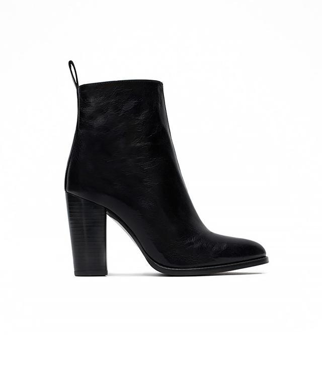 Zara High Heel Ankle Boots