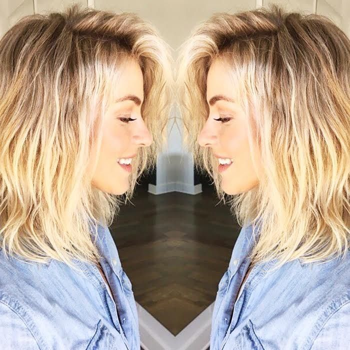 You Will Not Believe How Julianne Hough Got These Beachy Waves Byrdie