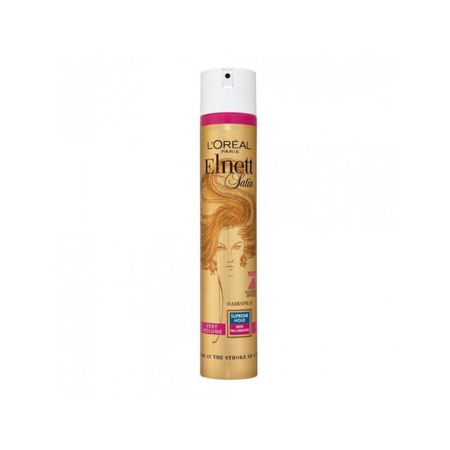 L'Oreal Paris Elnett Satin Supreme Hold Volume Hairspray