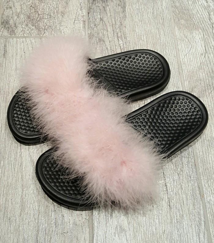 buy online 1ac86 4e217 furry flip flops nike