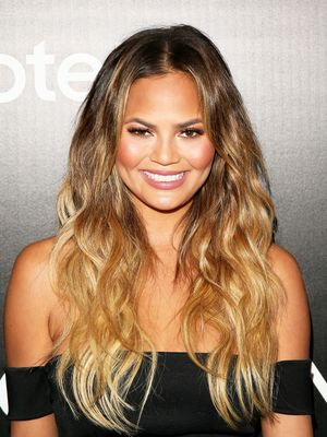 This Is Chrissy Teigen's Go-To Nail Colour