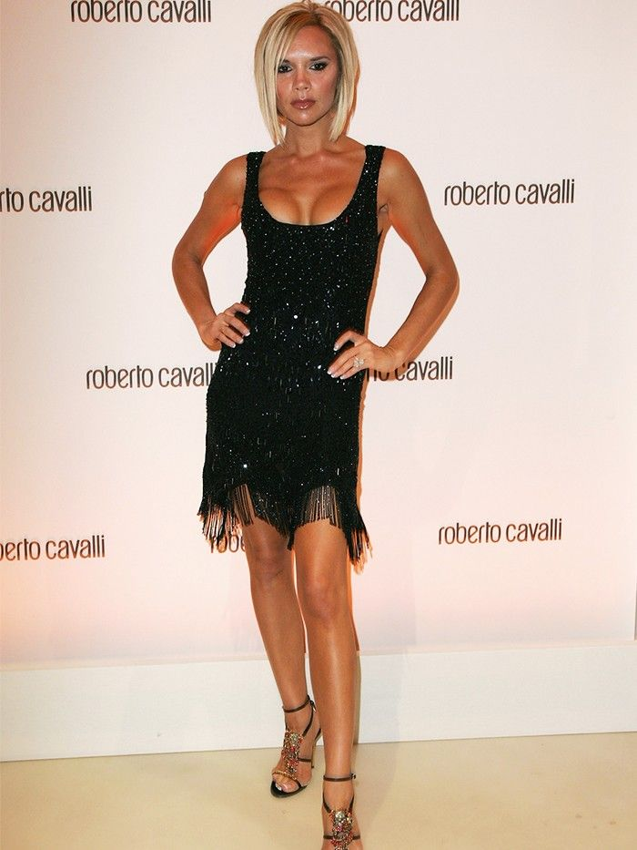 From 1996 To 2016 Victoria Beckhams Little Black Dress Collection
