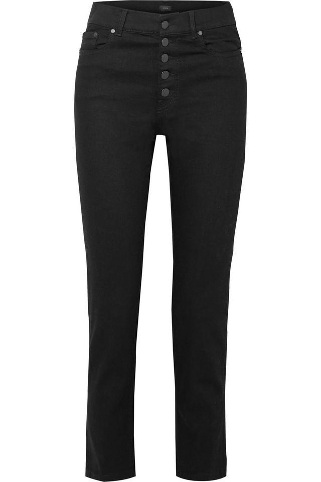Jopeph Den High-Rise Straight-Leg Jeans