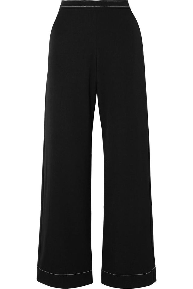 Georgia Alice Bella Cady High-Rise Wide-Leg Pants
