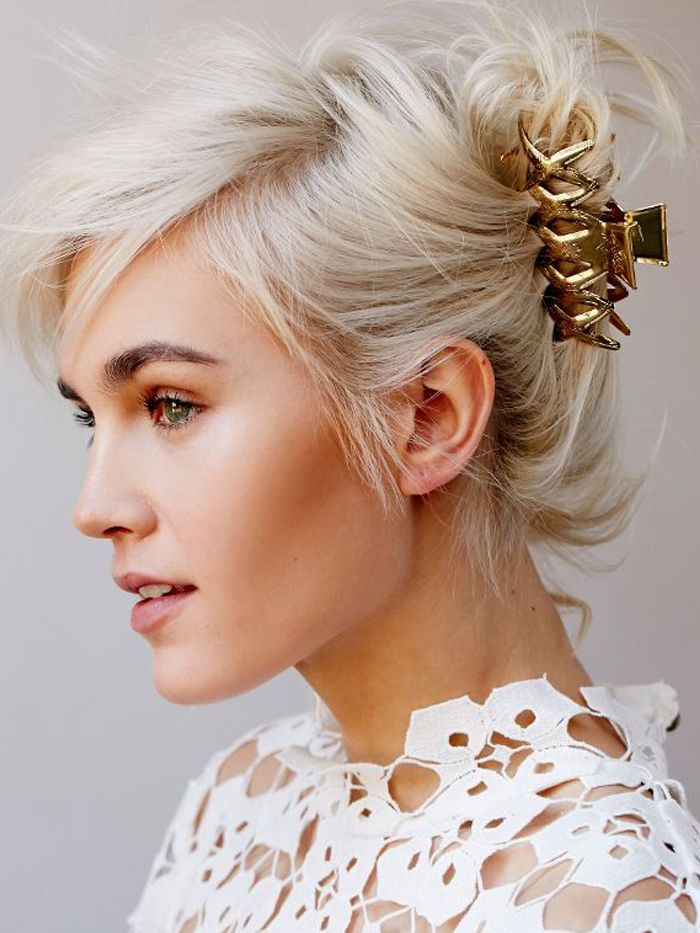 9 Chic and Simple Hairstyles for Wedding Guests | Byrdie
