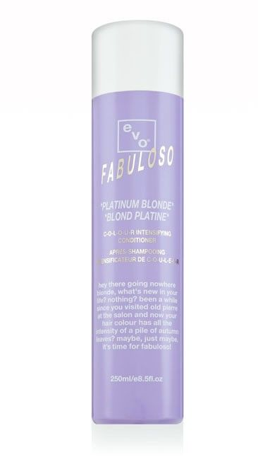Evo Fabuloso Platinum Blonde Colour Intensify
