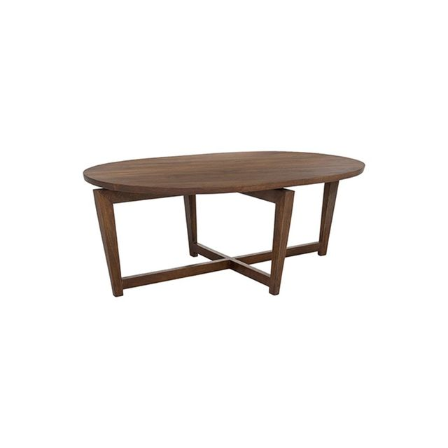 Freedom Reece Coffee Table 124x80cm in Chocolate