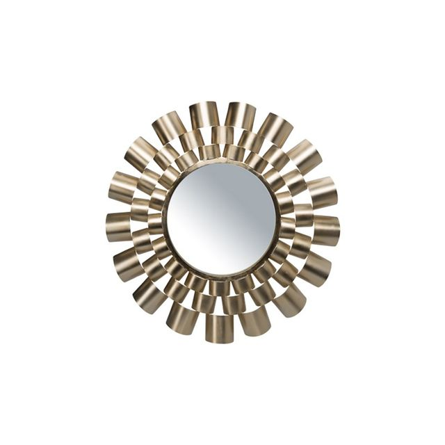 Freedom Elodie Mirror 59cm in Gold Colour