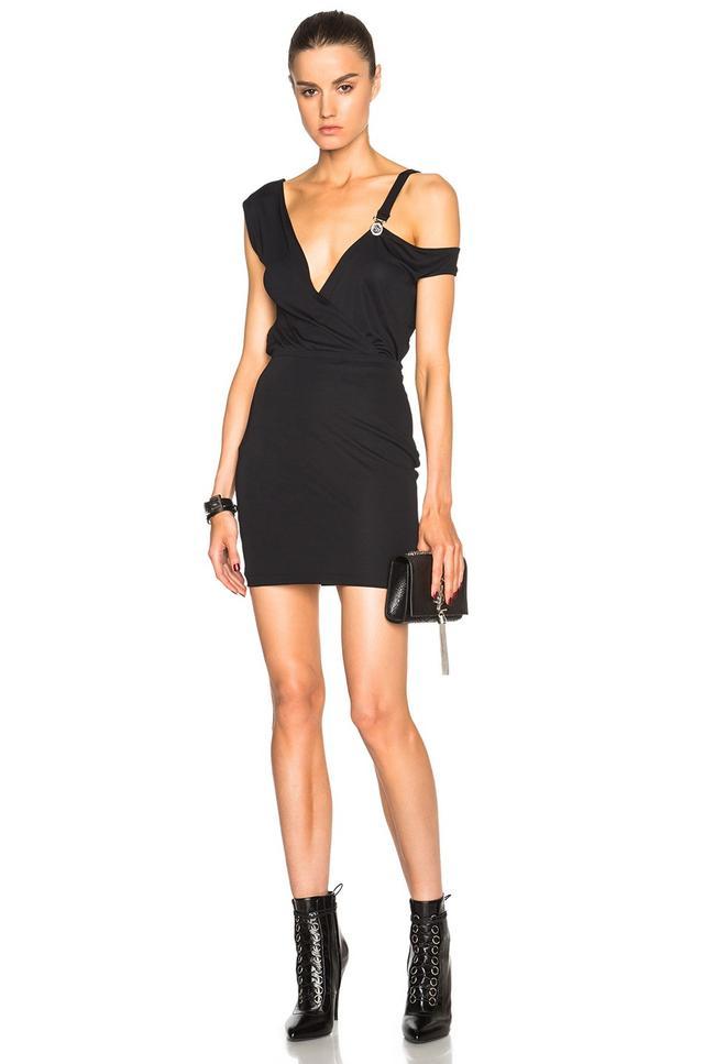 Versus Off the Shoulder Mini Dress