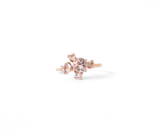 Natalie Marie Jewellery Precious Cluster Ring