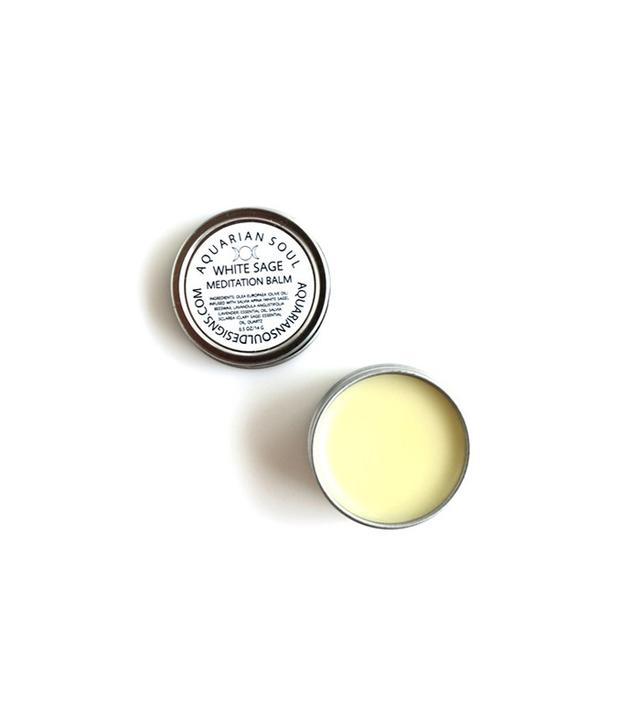 Aquarian Soul + Earth Oils White Sage Meditation Balm