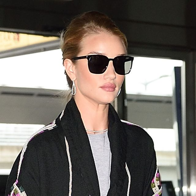 How to Copy Rosie Huntington-Whiteley's Bohemian Airport Outfit