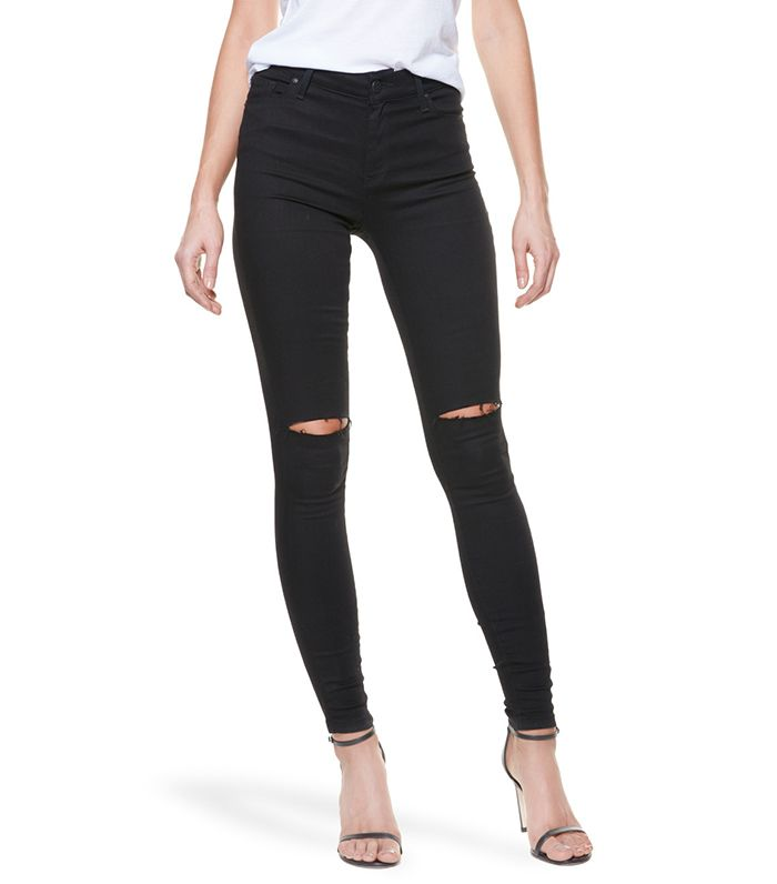 5f5952fe53be How to Wear Skinny Jeans After Age 30