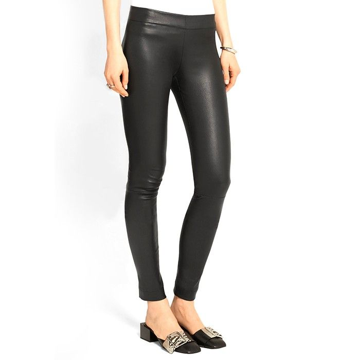 a57cb4334c4a85 Are Leggings as Trousers Ever Okay? An A-List Stylist Settles the Debate |  Who What Wear UK