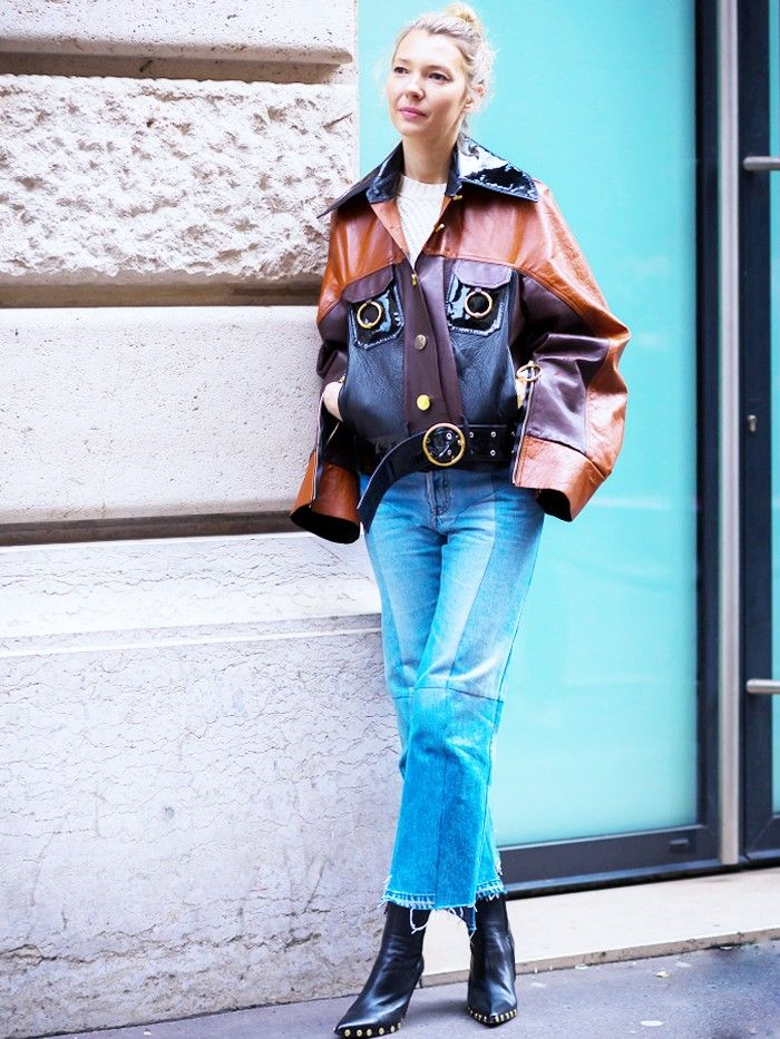 17 Street Style–Approved Ways to Wear Blue Jeans