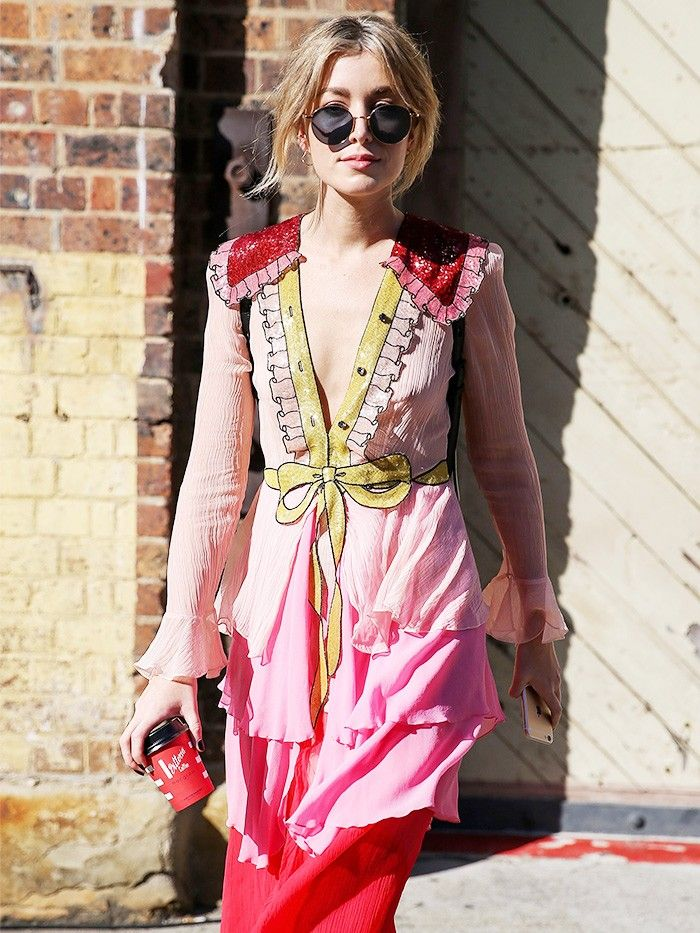 The Gucci Dress Every Street Style Photographer In Australia Sned Who What Wear