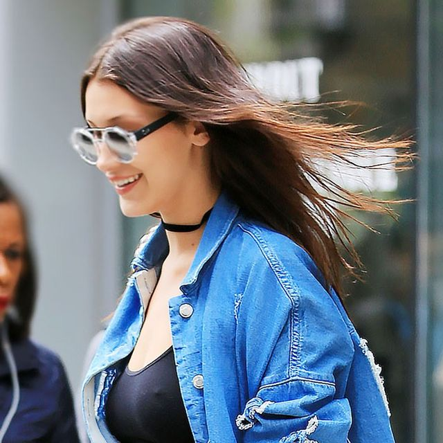 One Trend 4 Ways: Let Bella Hadid Show You How Chokers Are Done