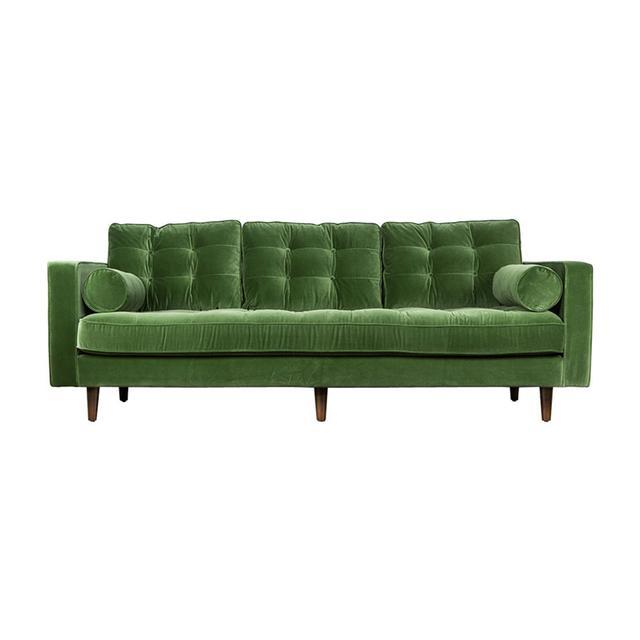 Matt Blatt Lexington Velvet 3-Seater Sofa