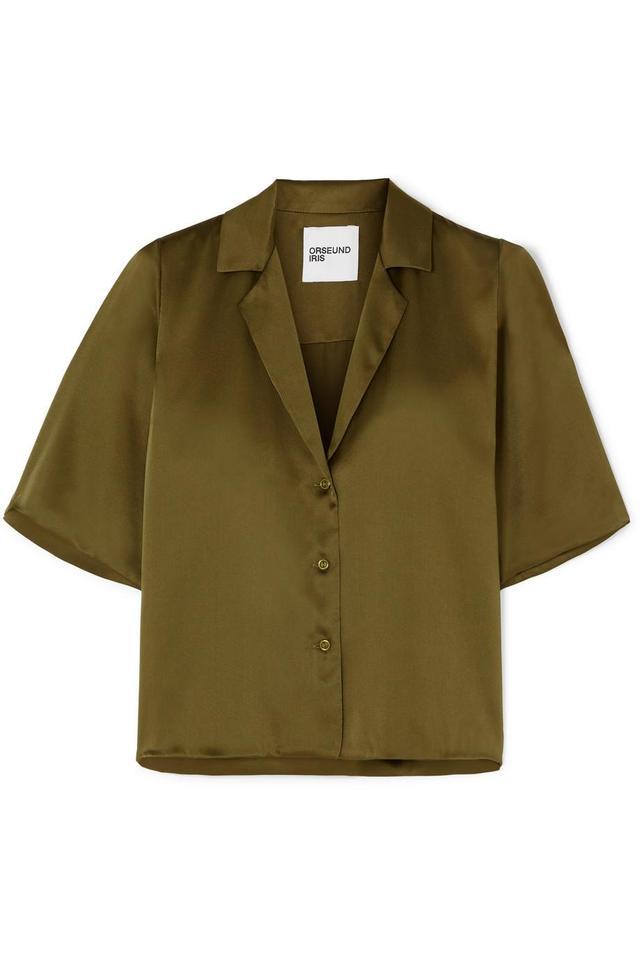 Le Funk Silk-satin Shirt