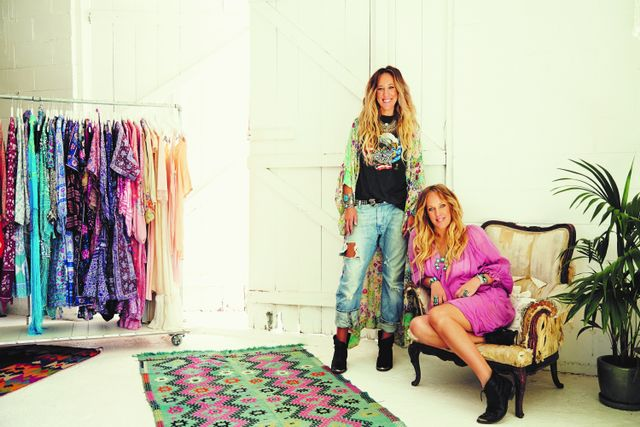 <p><strong>Pictured:</strong>Isabella Pennefather and Elizabeth Abegg.</p> <p><strong>Who What Wear Australia: How did you launch Spell Designs? What's been critical to your...