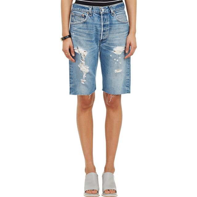Re/Done Ripped Walking Shorts
