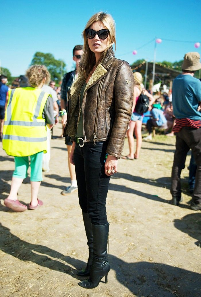 The Kate Moss Guide to Music Festival Dressing