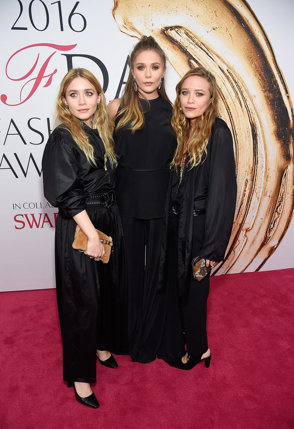 <p><strong>WHO:</strong> Ashley, Elizabeth and Mary-Kate Olsen</p>