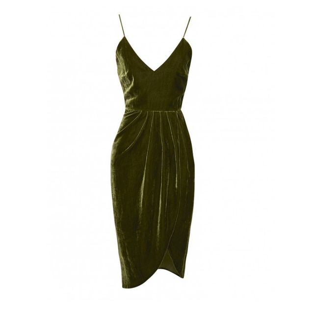 Vatanika Silk Velvet dress
