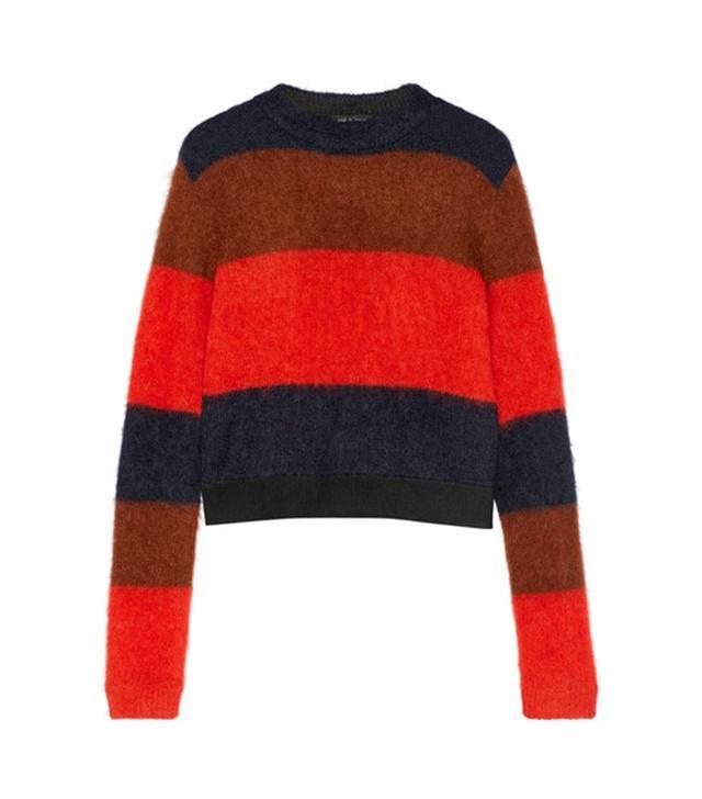 Rag & Bone Petra Striped Knitted Sweater