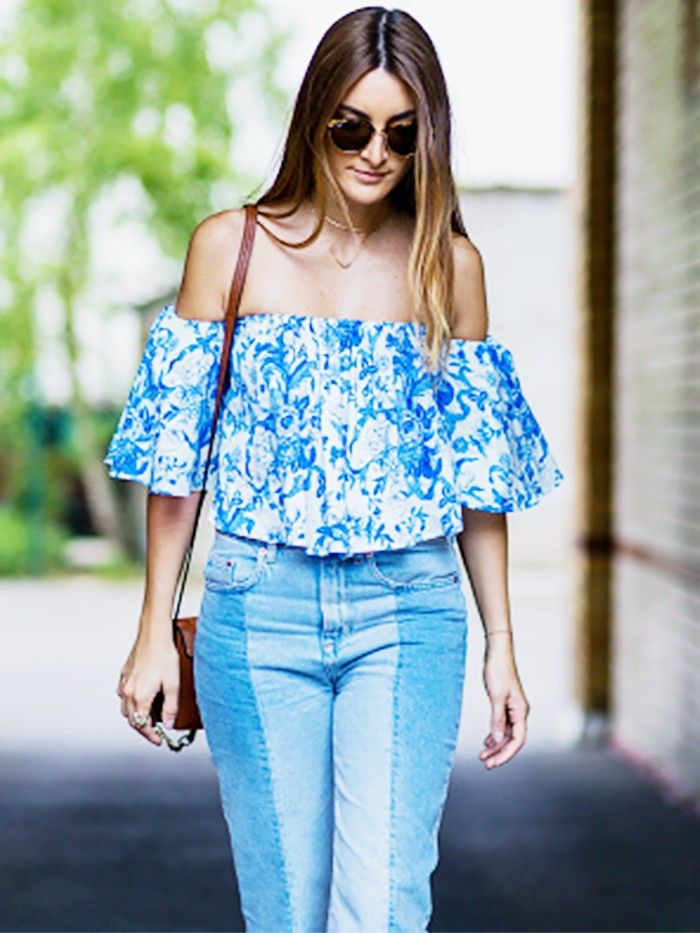 e3f88beb68eb3 Every Off-the-Shoulder Top Style You Need to Know