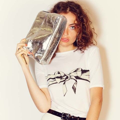 Bow French Cut T-Shirt