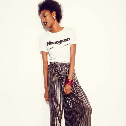 Monogram French Cut T-Shirt