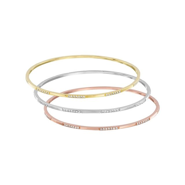 Swarovski Cubist Bangle Set
