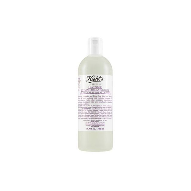 Kiehl's Lavender Foaming-Relaxing Bath with Sea Salts and Aloe Vera